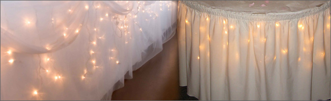 LED icicle lights for hire, Auckland